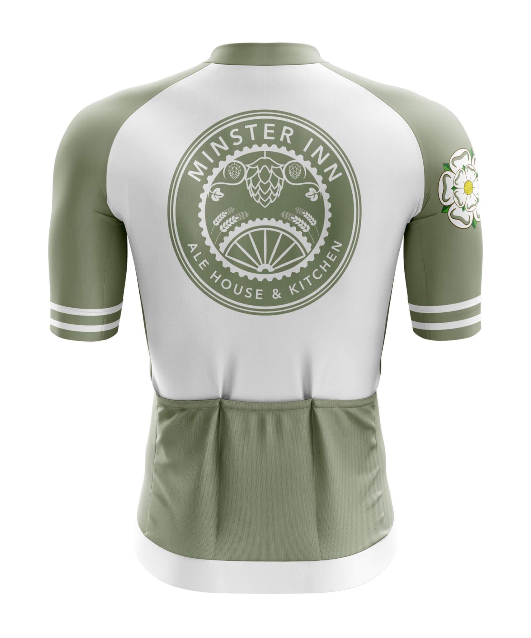 Custom Cycle Jersey (Short Sleeve) Back