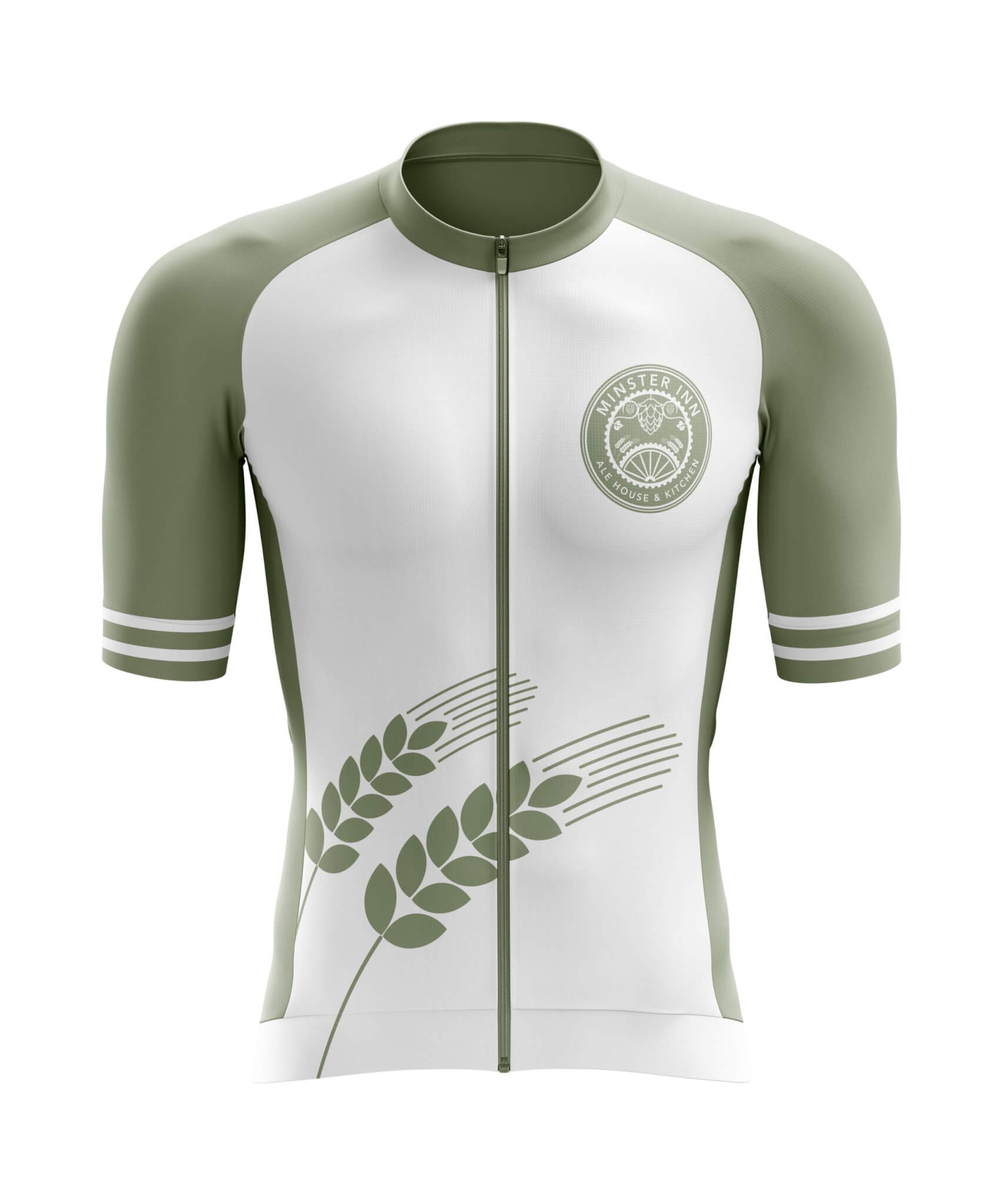 Custom Cycle Jersey (Short Sleeve) Front