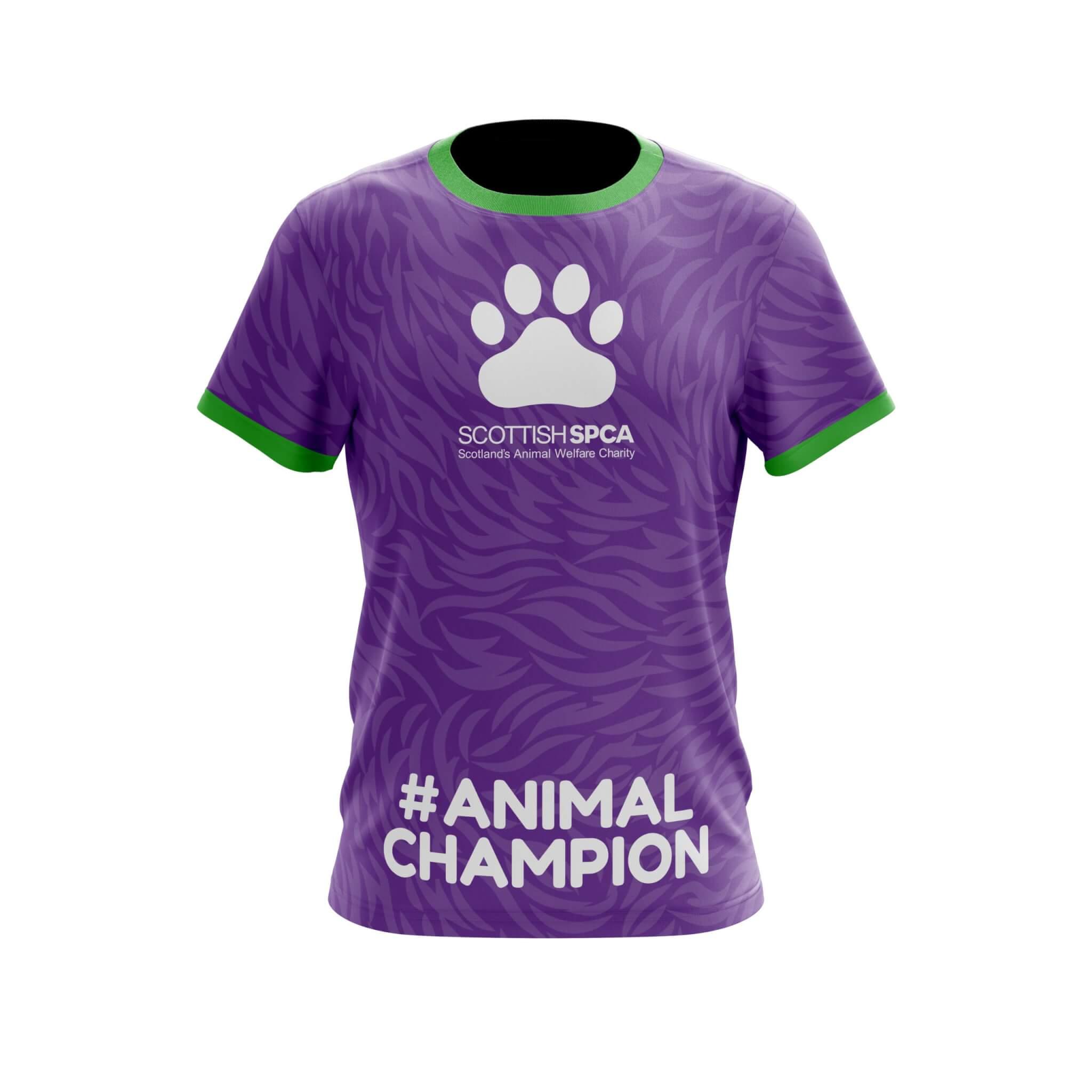 Custom Technical T-Shirt Front