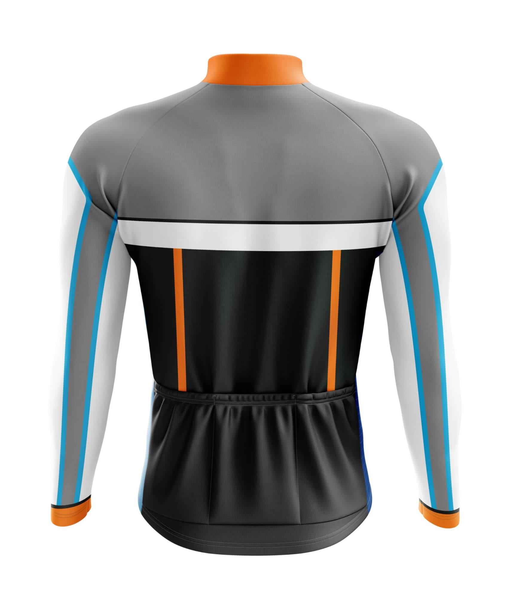 Custom Cycle Jersey (Long Sleeve) Back