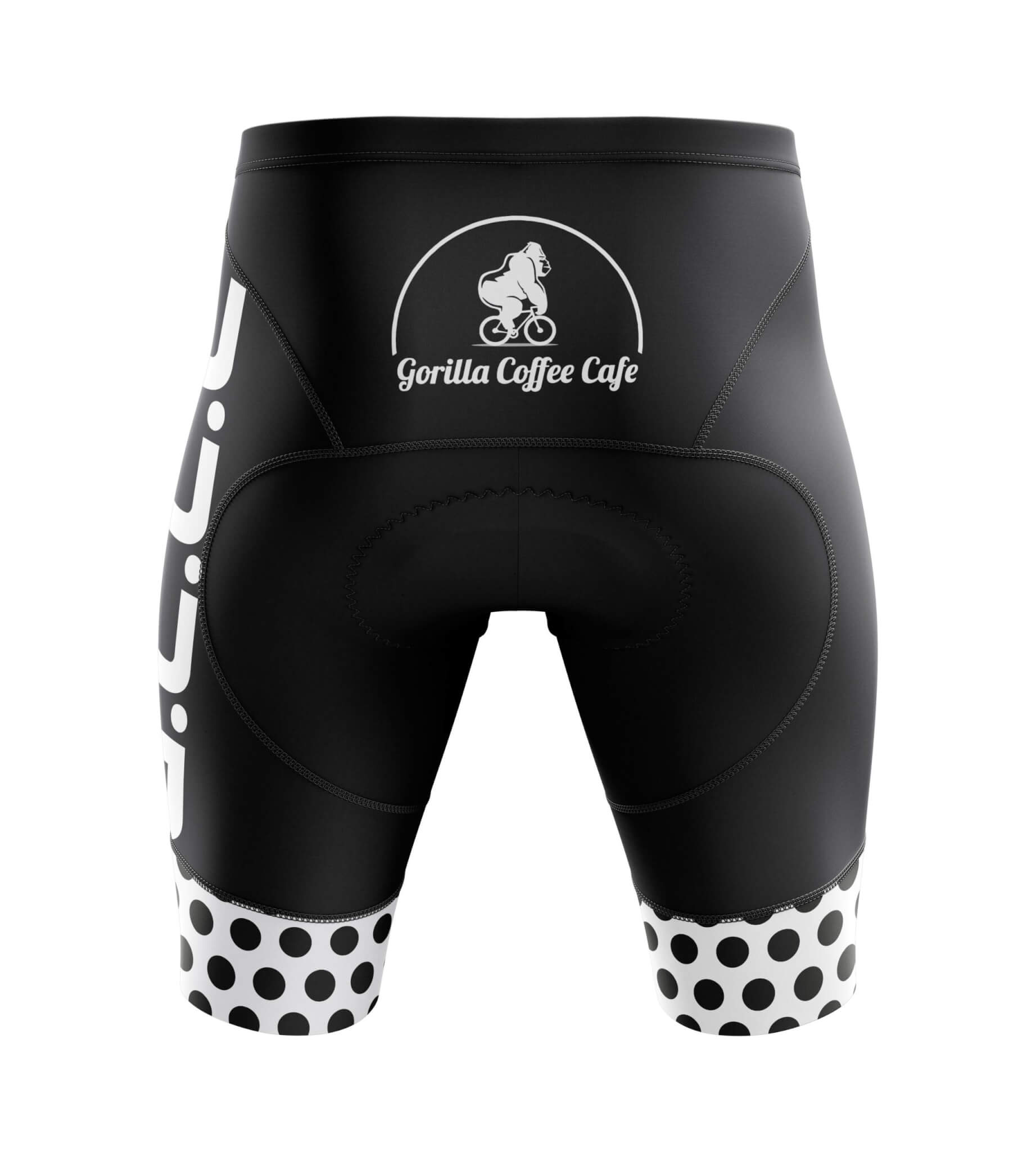 Custom Cycle Shorts Back