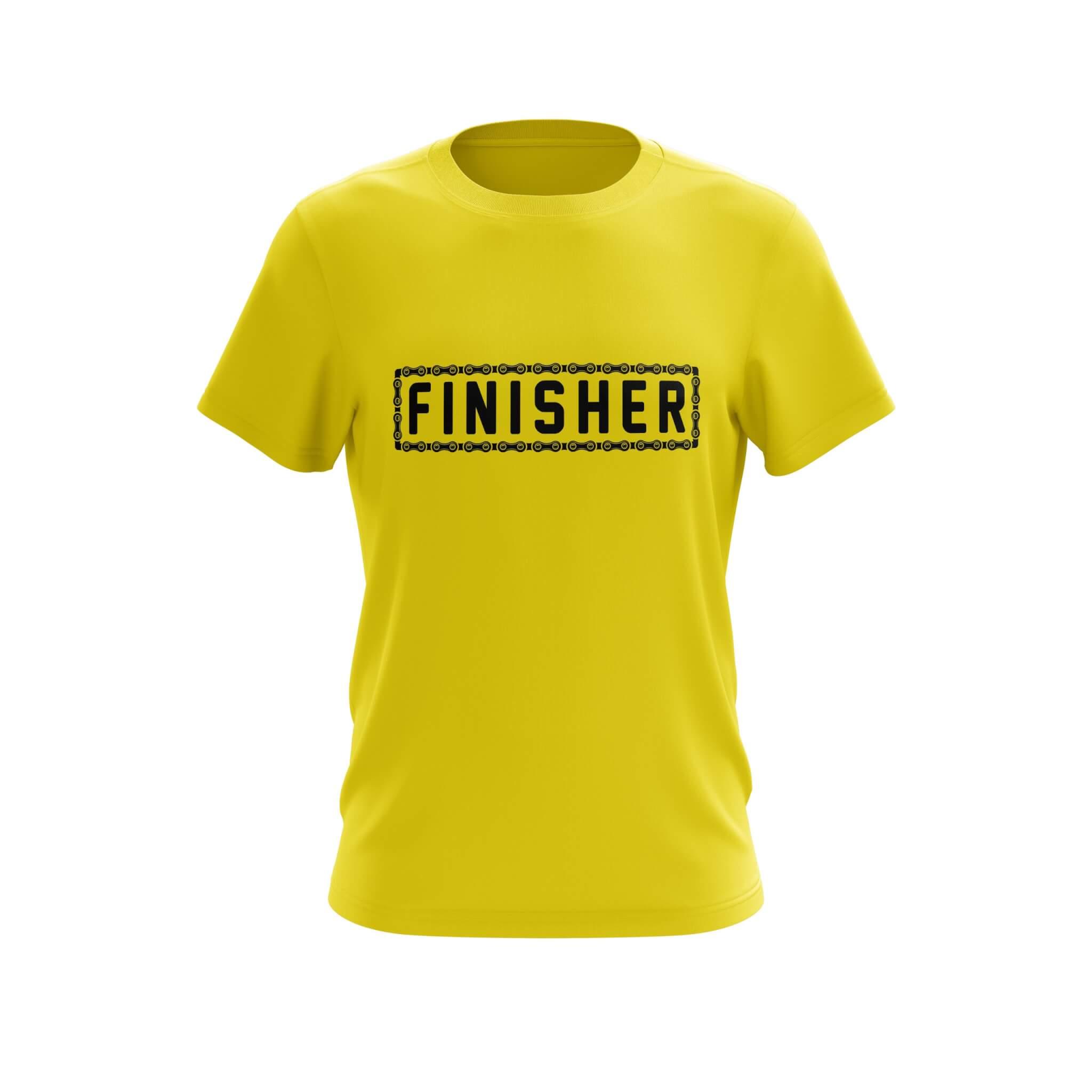 Finisher Custom Technical T-Shirt Front
