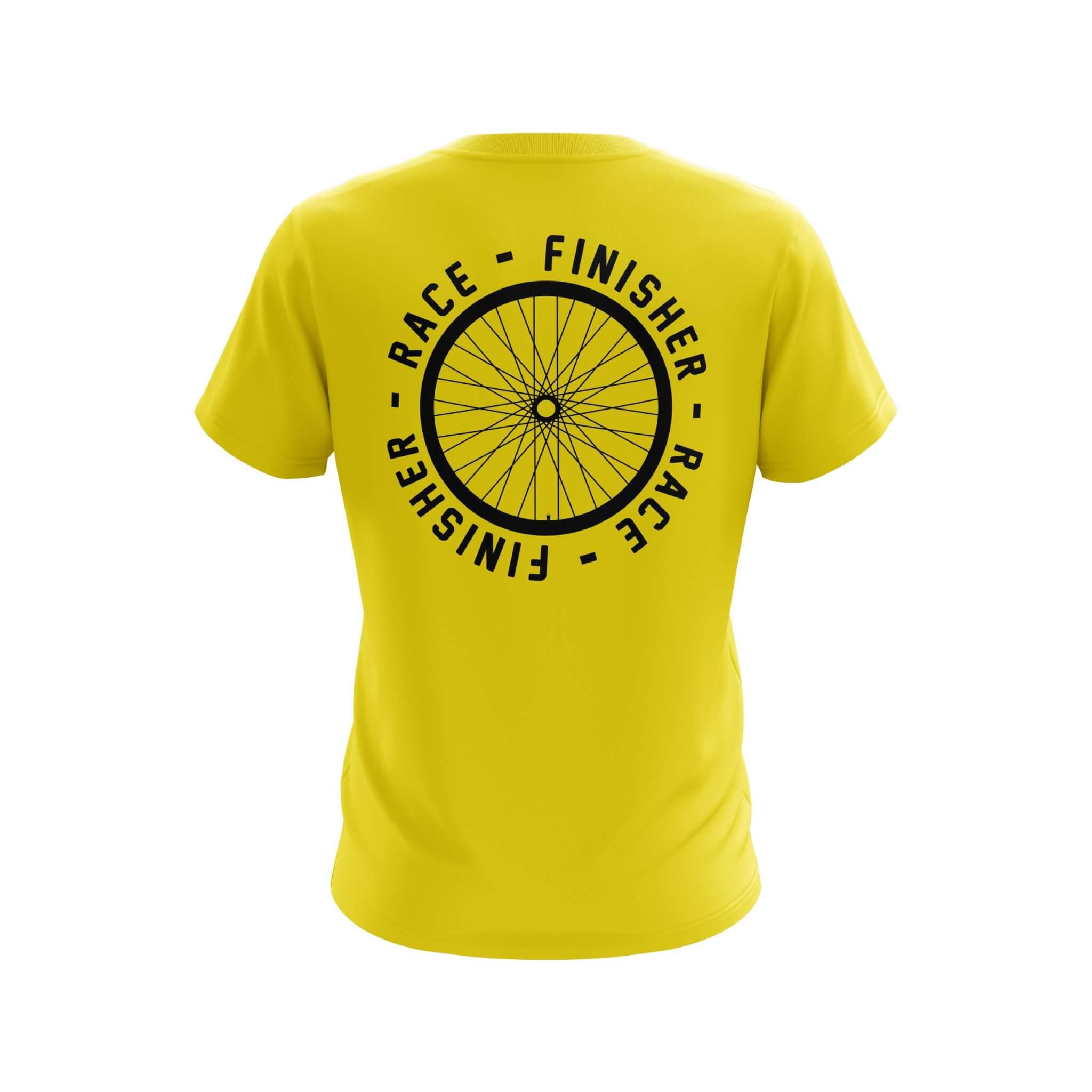 Finisher Custom Technical T-Shirt Back
